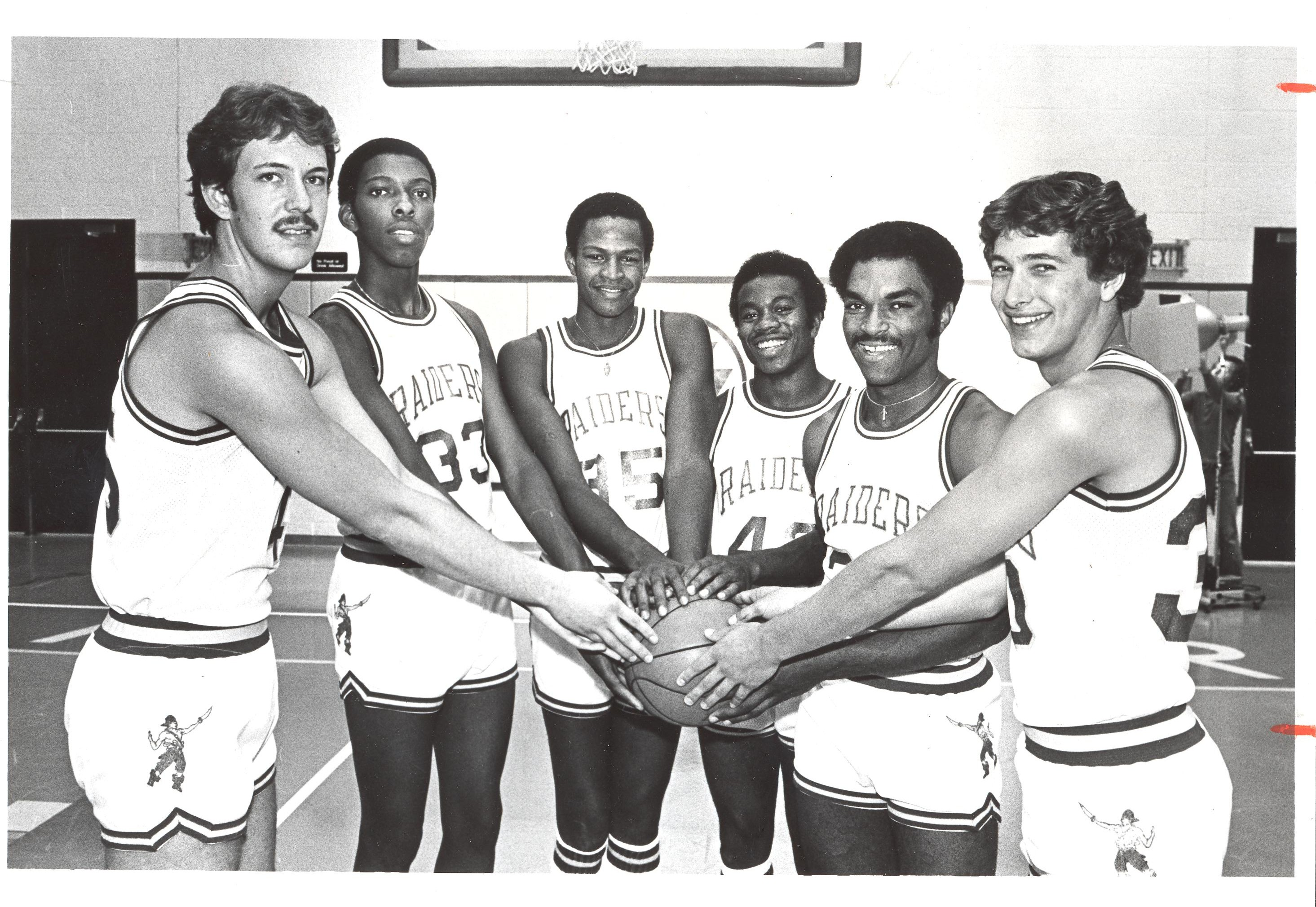 Wright State's 1980 Mens Basketball Team