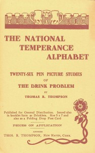 National Temperance Alphabet