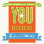 2012 National Library Week badge