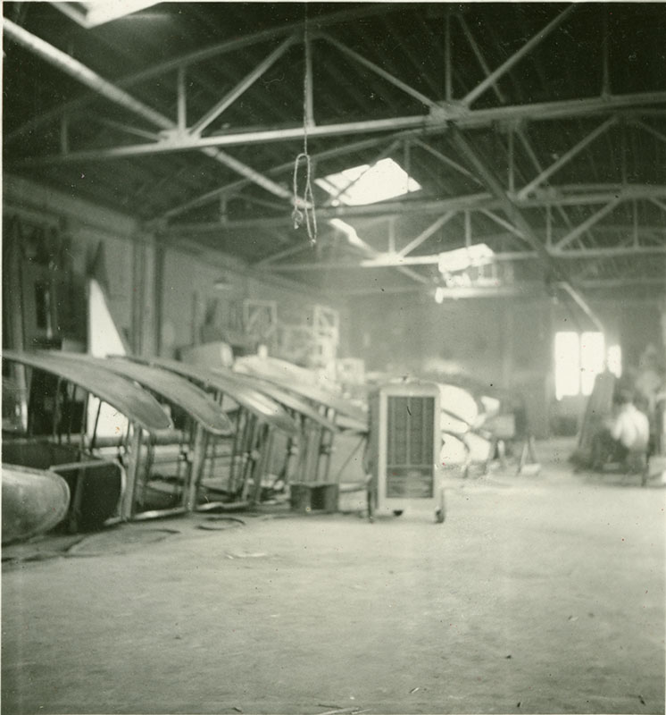 Custer Specialty Co. factory photo, 1939: chair construction