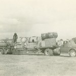 One of Custer's carnival rides on a truck, [1960?]
