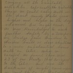 Margaret Smell diary entry, March 25, 1913, Part 2 of 3