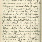 Milton Wright diary entry, March 25, 1913, Part 2 of 5