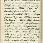 Milton Wright diary entry, March 27, 1913, Part 4 of 5