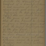 Margaret Smell diary entry, March 28, 1913, Part 2 of 2
