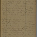 Margaret Smell diary entry, March 30, 1913, Part 3 of 3