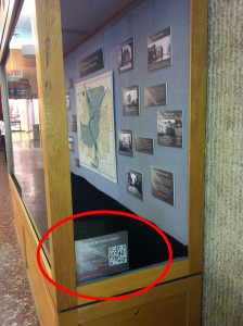 Neukom Flood Exhibit QR Code