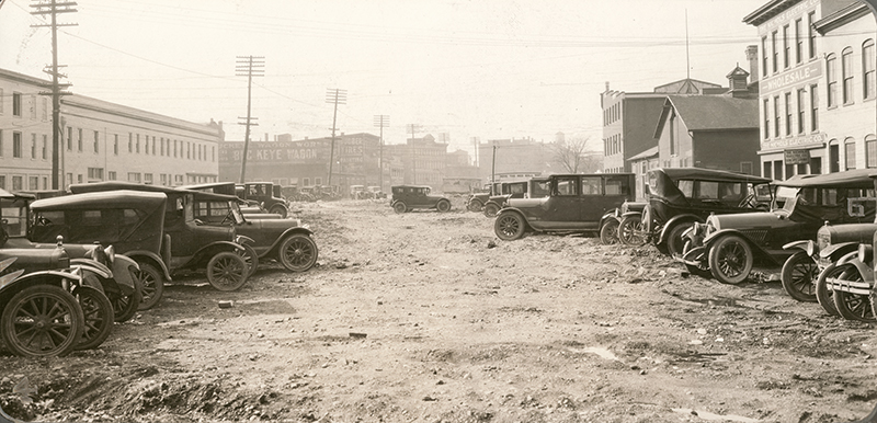 [Former canal near Buckeye Wagon Works and Nichols Electric Co., 1926]