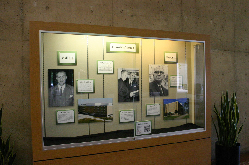 Founders' Quad Exhibit: Millett and Fawcett