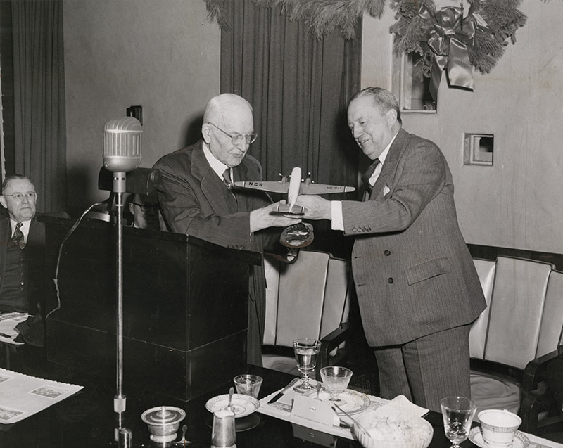 Edward Deeds and Stanley Allyn, ca. 1954