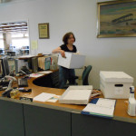 Reference desk cleaning