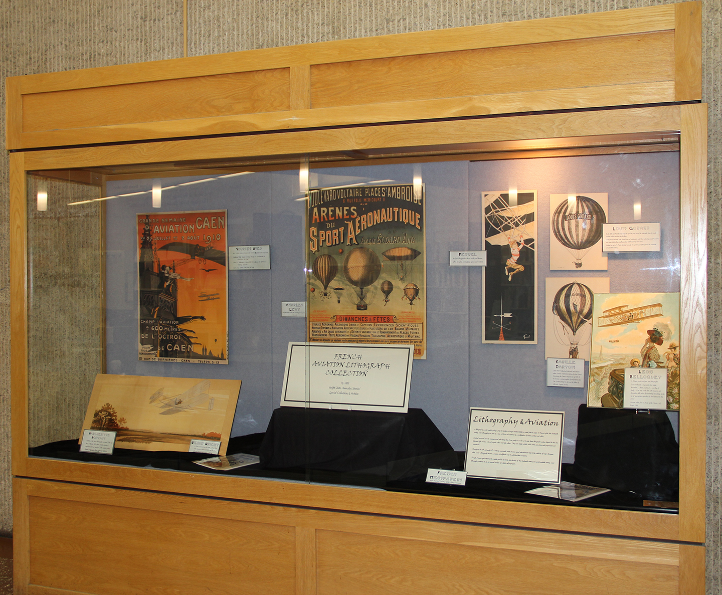 Exhibit of French Aviation Lithographs (MS-403), Nov. 18, 2013