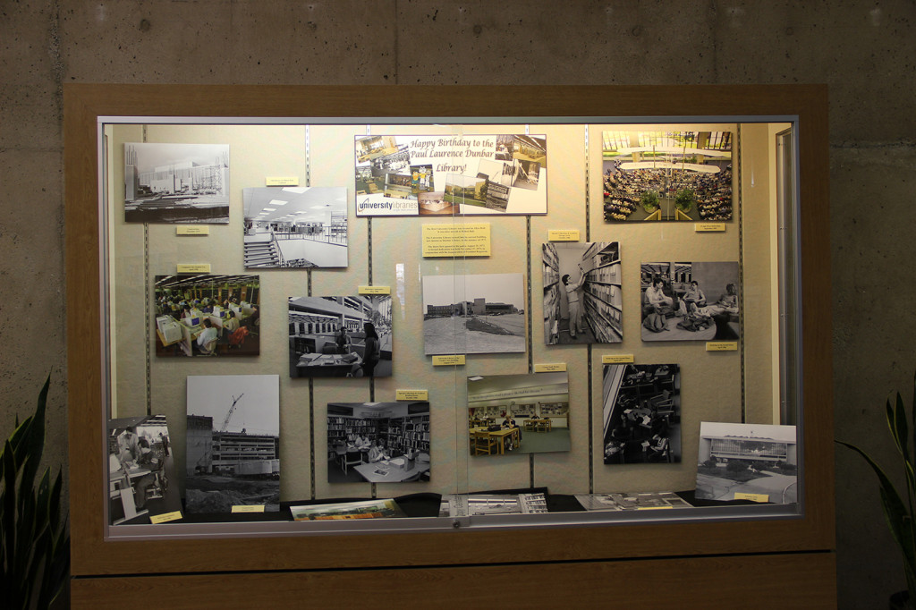 Dunbar Library History/ 40th Birthday Exhibit