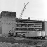 University Library Construction, 1972 (7210-03-7 10)