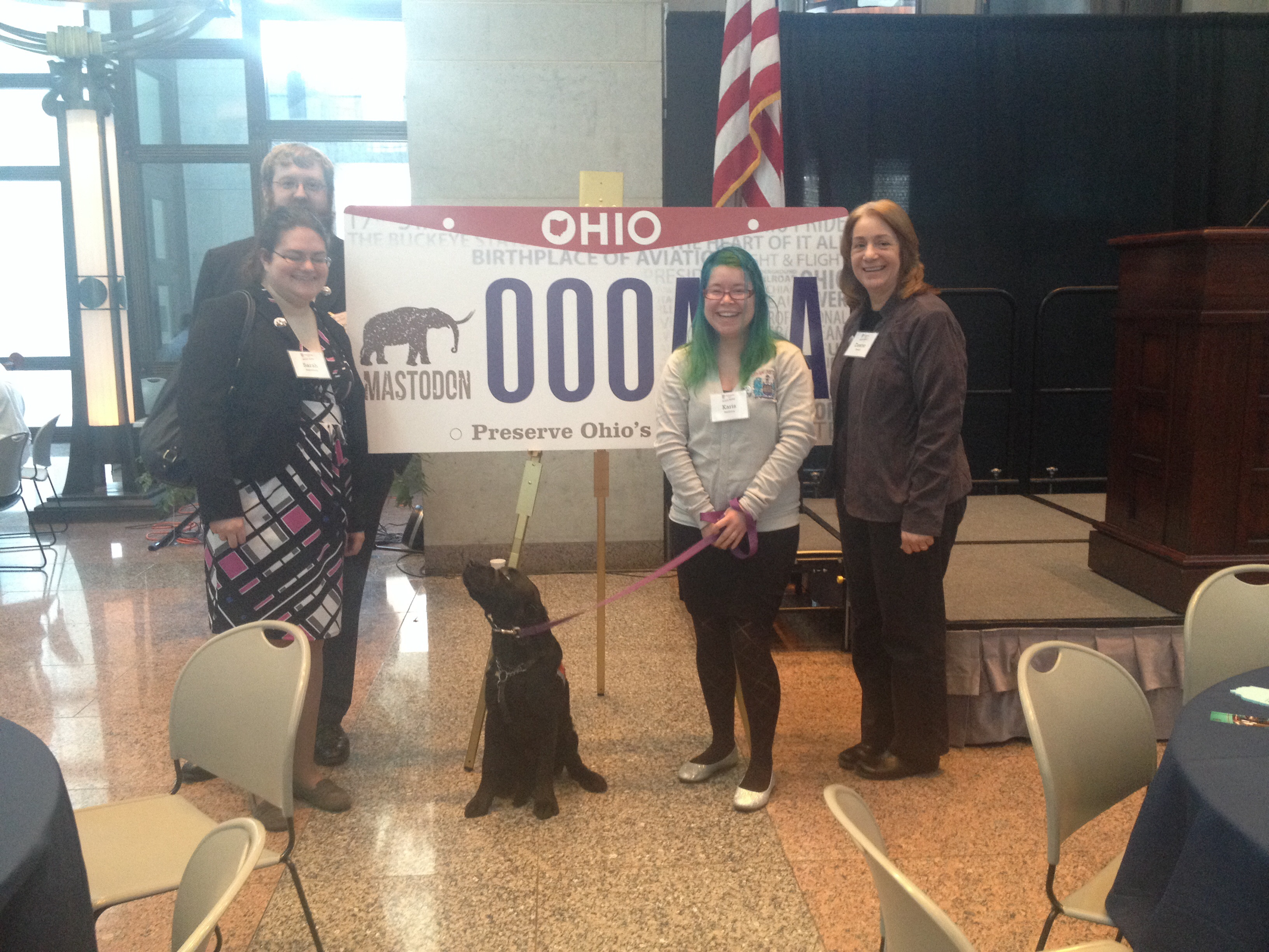 Public History students at Ohio Statehood Day 2014