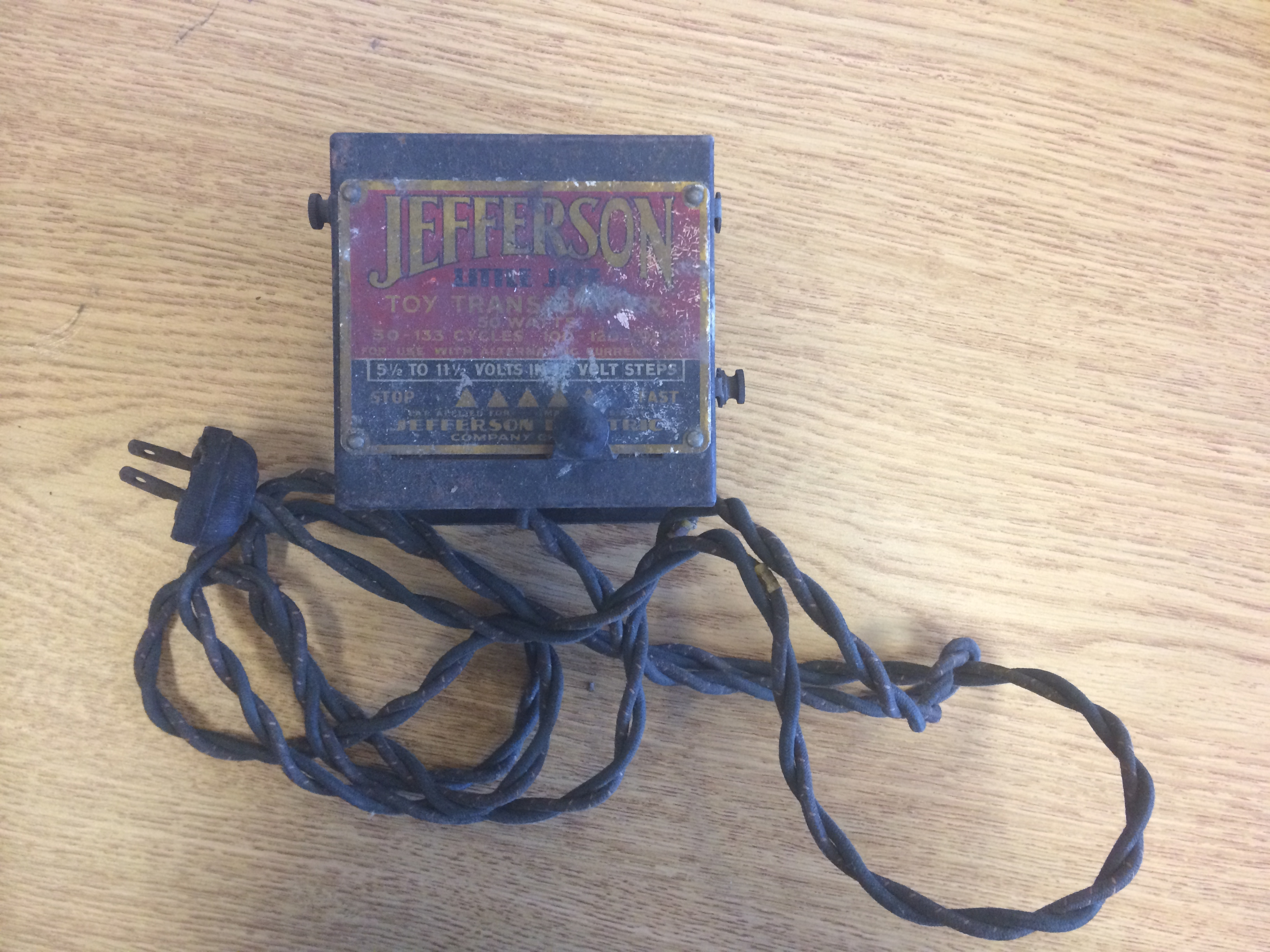 Jefferson 'Little Jeff' Toy Transformer (MS-305, Box 7)