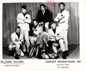 Early promotional pic of the Ohio Players when they were an R & B Group