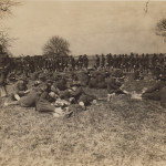 Soldiers at Camp Sherman, 1918 (from MS-100)