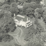 Hawthorn Hill, exterior aerial view, 1934 (MS-1, photo # 26-5-22)