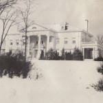 Hawthorn Hill, exterior in the snow, undated (MS-216, 7:13)