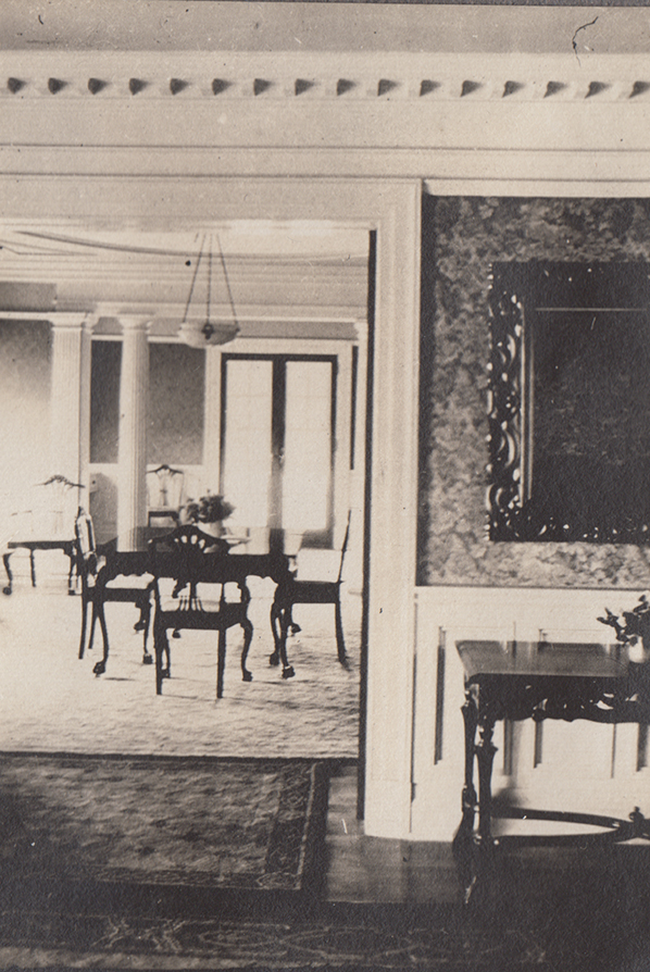 Hawthorn Hill, interior, undated (MS-216, 7:13)