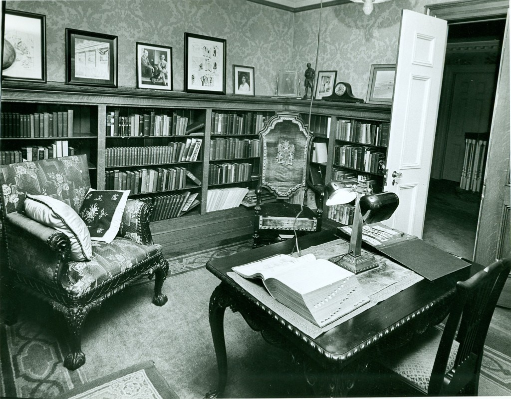 Hawthorn Hill, interior, undated (MS-458)