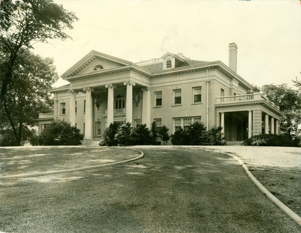 Hawthorn Hill, exterior, undated (MS-458)