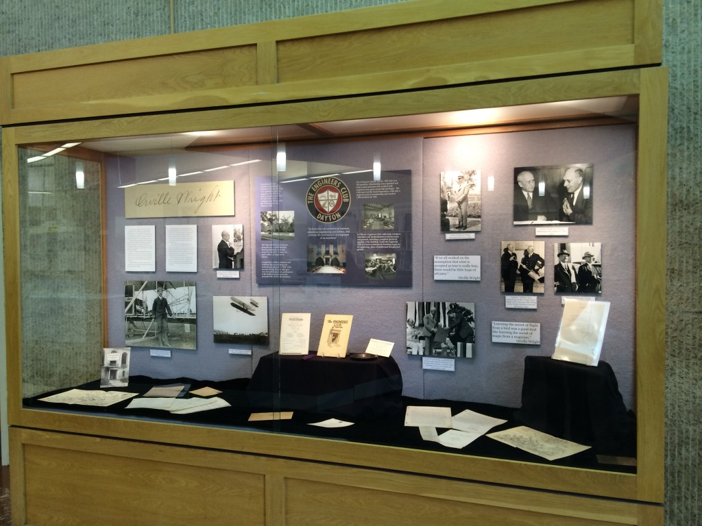 Engineers Club of Dayton Exhibit, May 2014