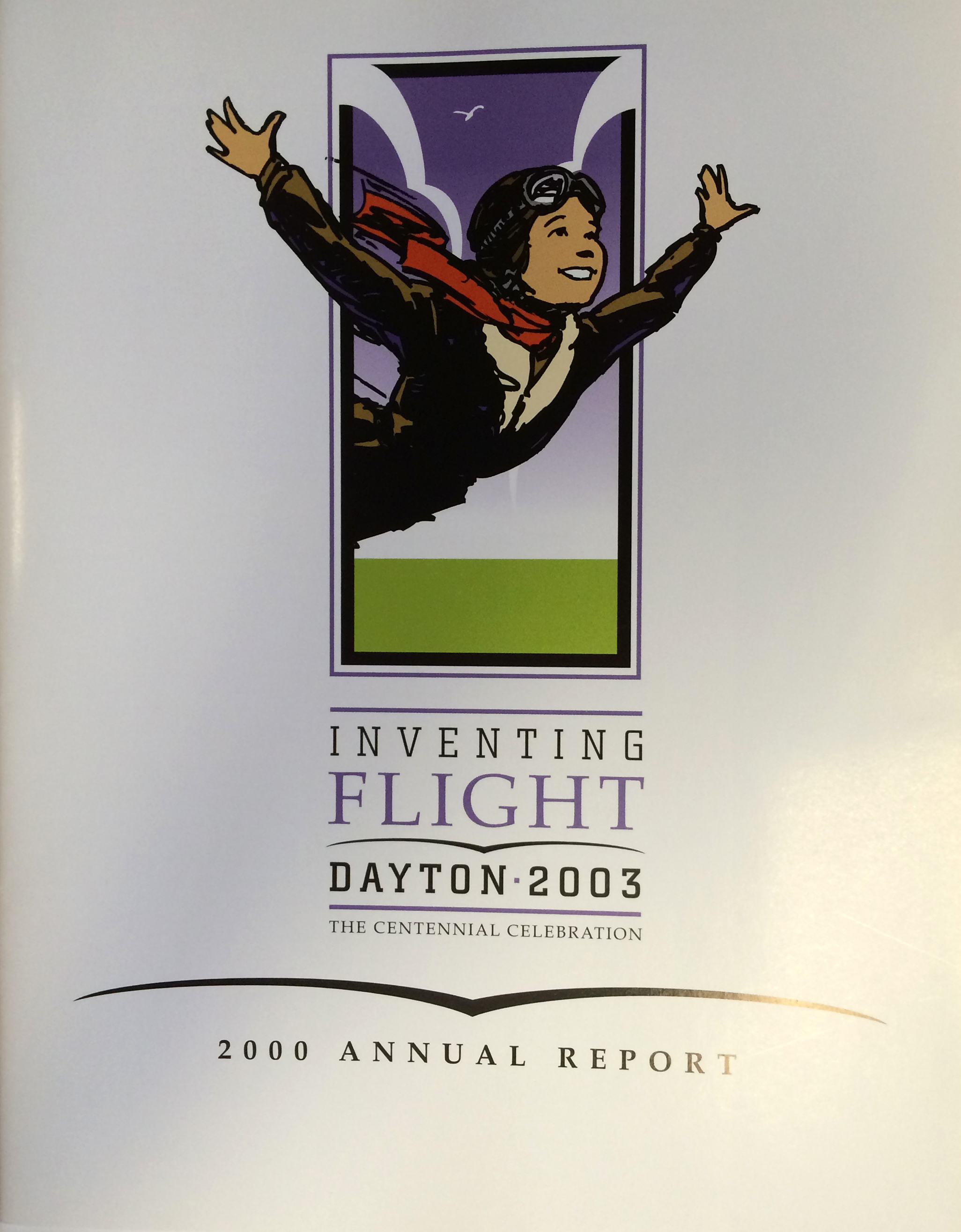 Inventing Flight Annual Report, 2000 (MS-483, Tillson Collection, Box 1, File 4)