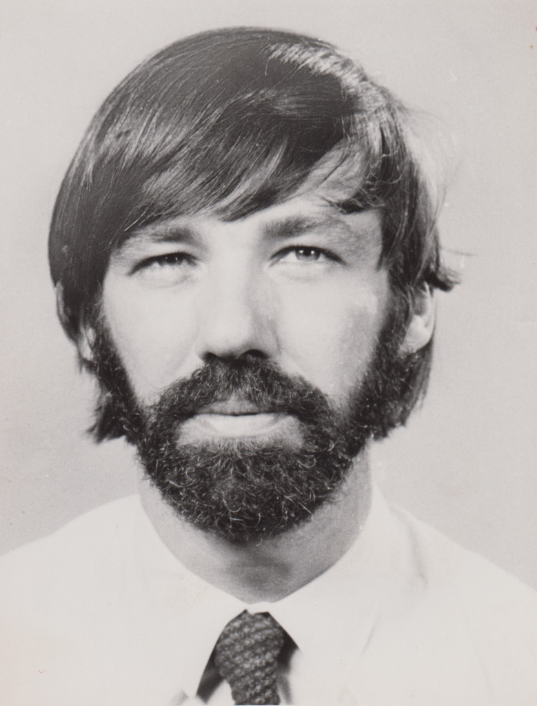 Dale Huffman with a beard, undated