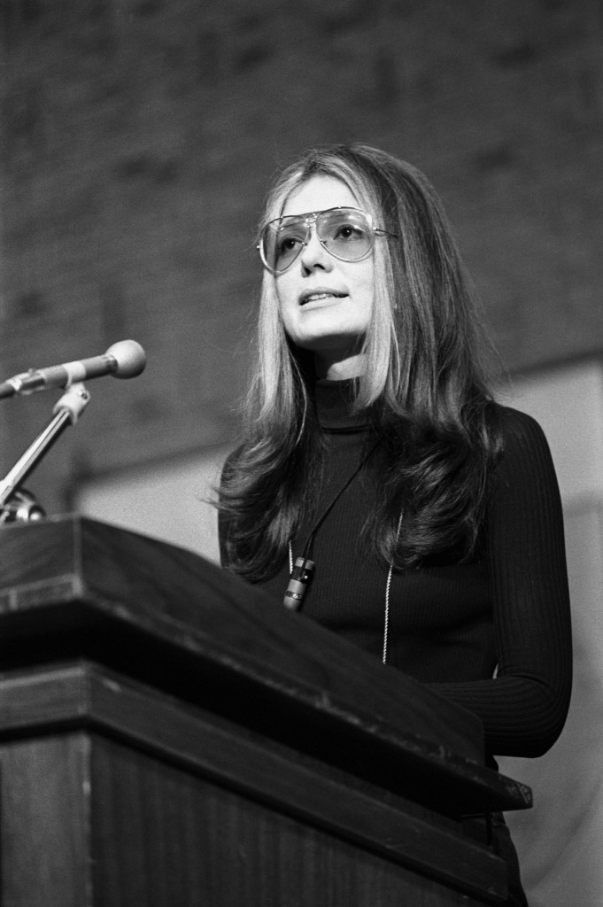 Gloria Steinem at Wright State, Jan., 1972