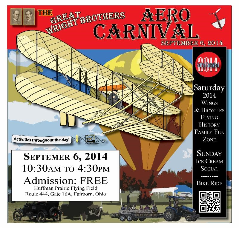 Great Wright Brothers Aero Carnival banner
