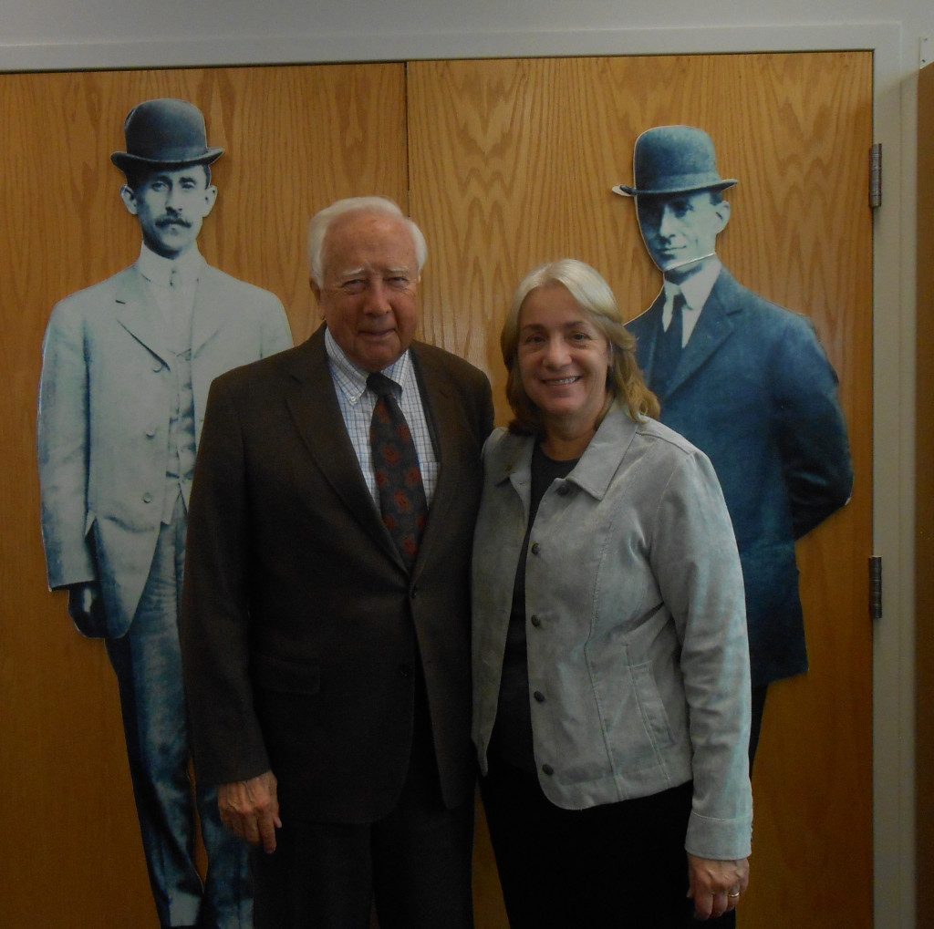 David McCullough and Dawne Dewey, 25 Sept. 2014