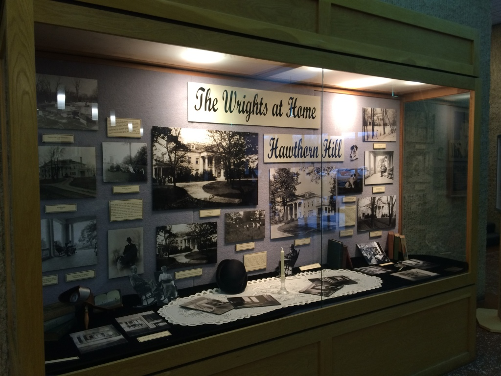 """The Wrights at Home: Hawthorn Hill"" exhibit, Dec. 2014"