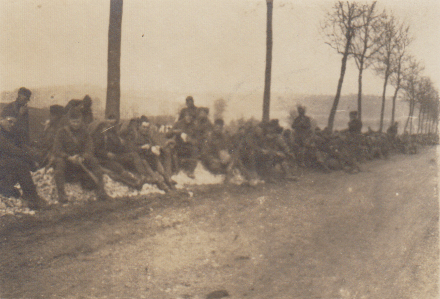 82nd Div. returning, Nov. 11, 1918
