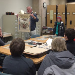 Sharing Wright Brothers materials with school children