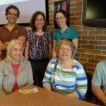 John's farewell lunch with SCA staff, May 11