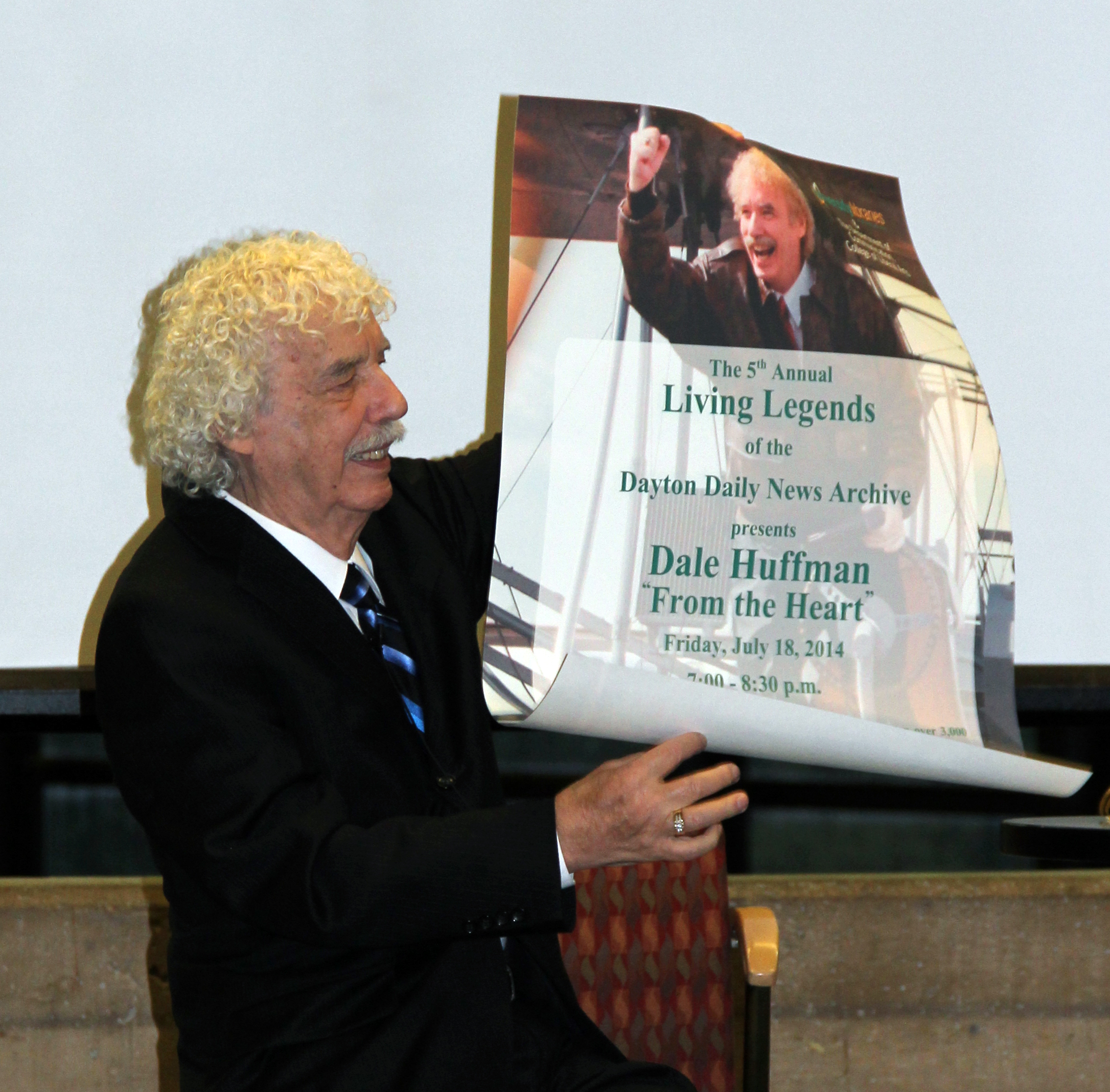Dale Huffman was honored at our 5th annual Living Legends of the Dayton Daily News Archives event in July 2014.