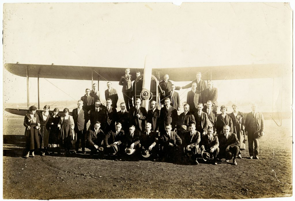 Group Photo of the Supervision Staff of the Moraine Plant of Dayton-Wright Airplane Company (sc347_06_22)