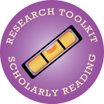 ResearchTK2015buttonScholarlyReading
