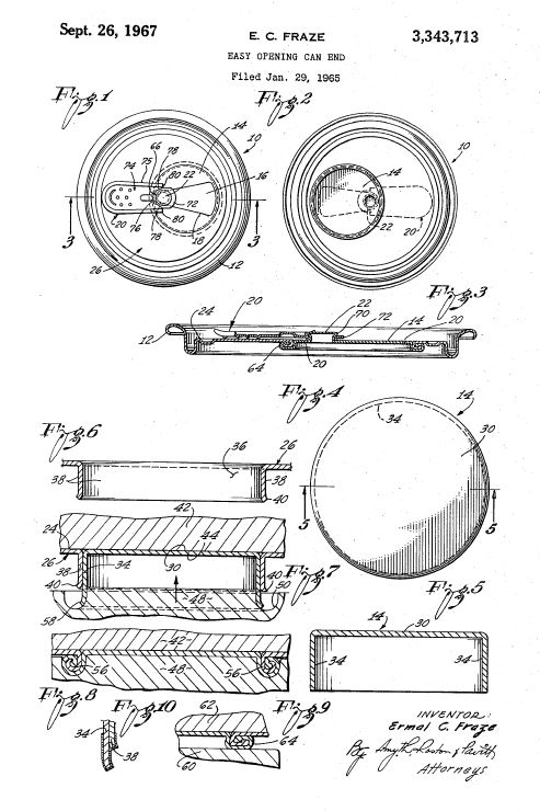 pop top can patent