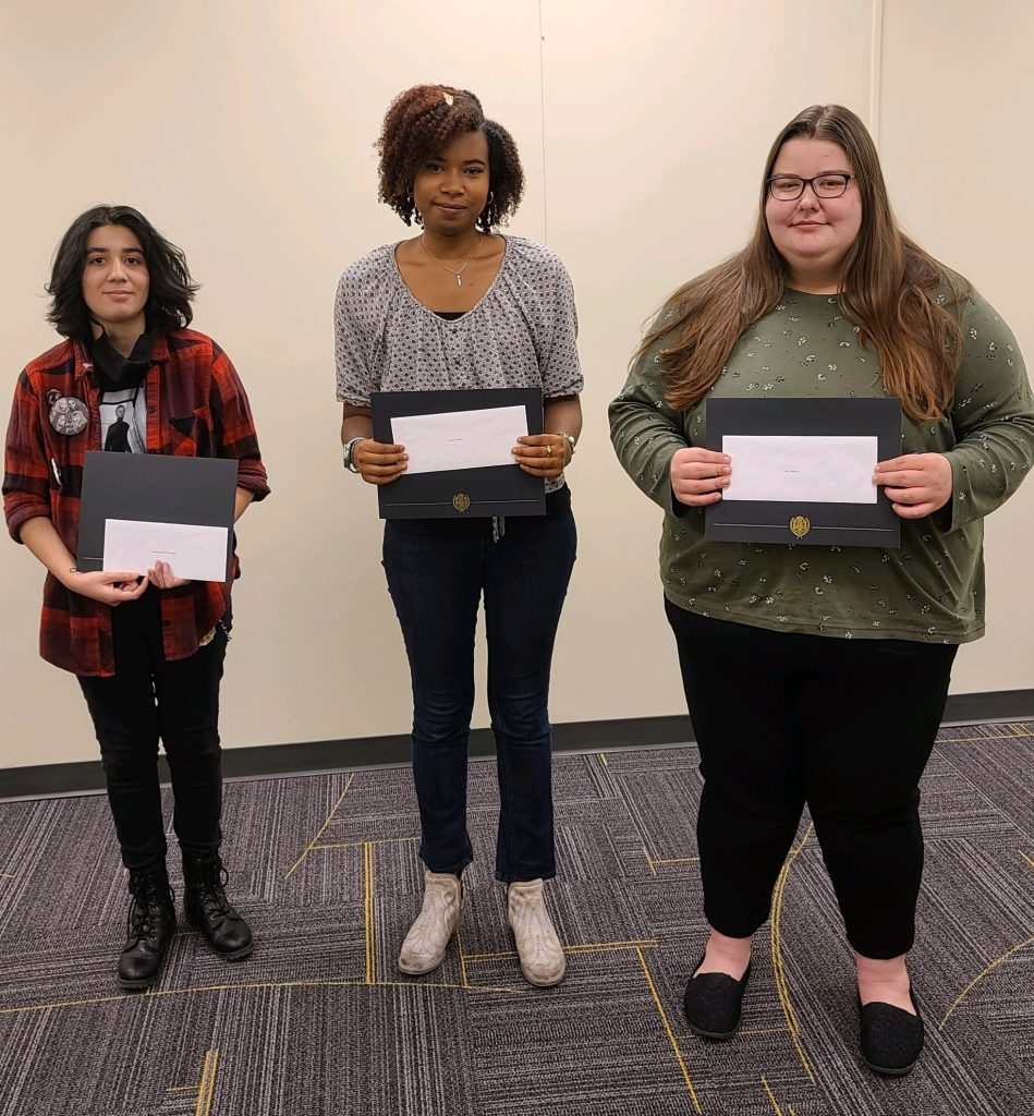 Image of Library Student Assistant Award Recipients - Fall 2021