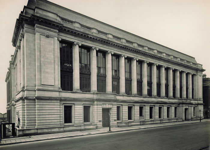 Science Museum Building in London, 1928.